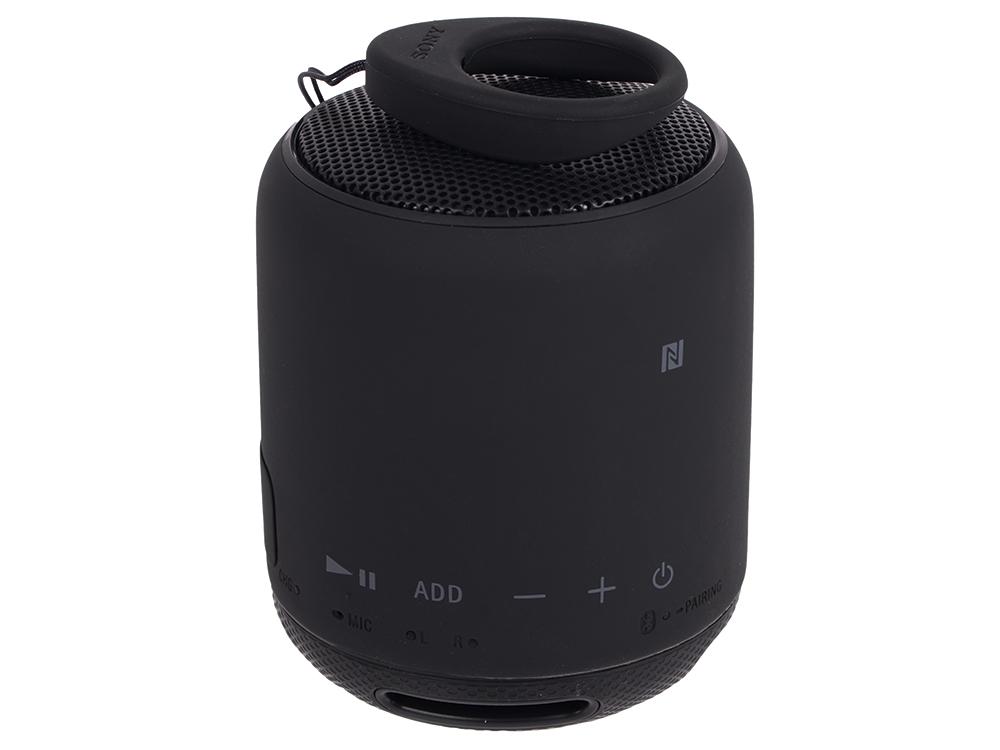 Беспроводная портативная акустика Sony SRS-XB10 (Черная) Bluetooth, Extra Bass, Работа до 16 часов цена