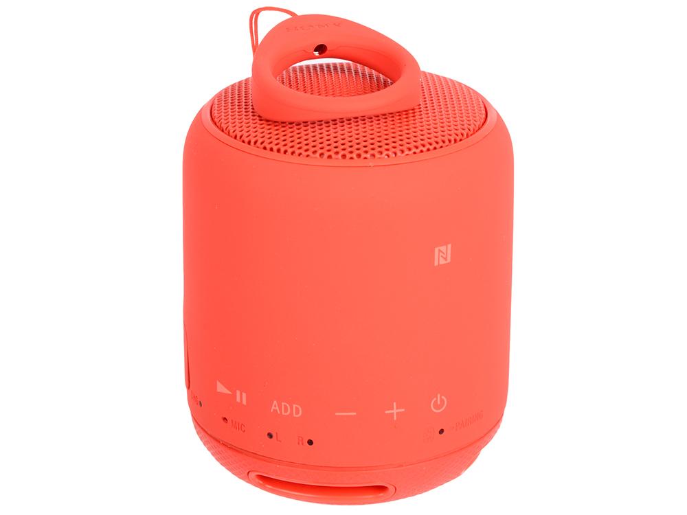 Беспроводная портативная акустика Sony SRS-XB10 (Красная) Bluetooth, Extra Bass, Работа до 16 часов цены