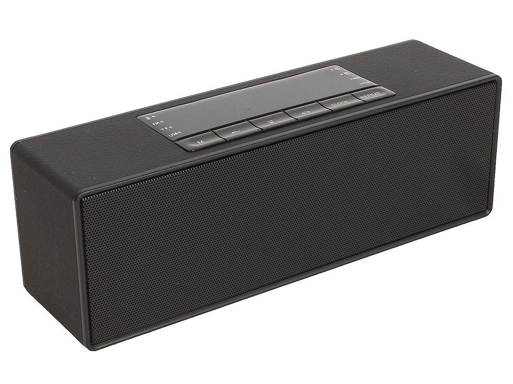цена на Портативная колонка GiNZZU GM-883B Black (10 Вт, 80 - 18 000 Гц, Bluetooth, FM, mini Jack, USB, microSD, батарея)