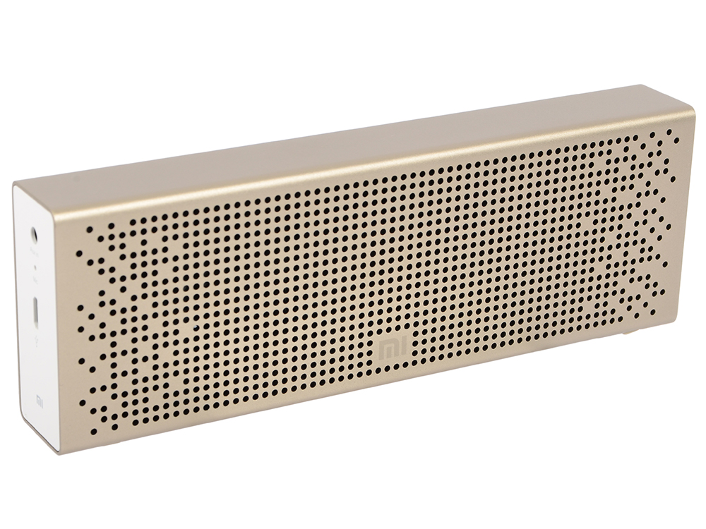 Портативная колонка Xiaomi Mi Bluetooth Speaker Gold портативная акустическая система xiaomi pocket speaker 2 black