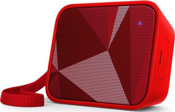 цена на Портативная акустикаPhilips BT110R красный