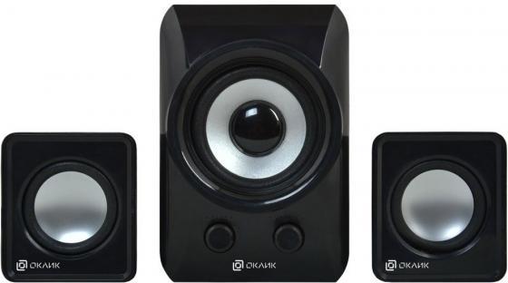 Акустическая система 2.1 Oklick OK-420 Black 2х3 Вт + 5Вт / 20 - 18000 Гц / 3.5мм, USB / USB