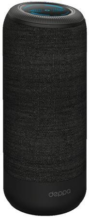 Портативная акустикаDeppa Speaker SoundCup черный 42005 портативная акустика qumo x8 bt008 черный