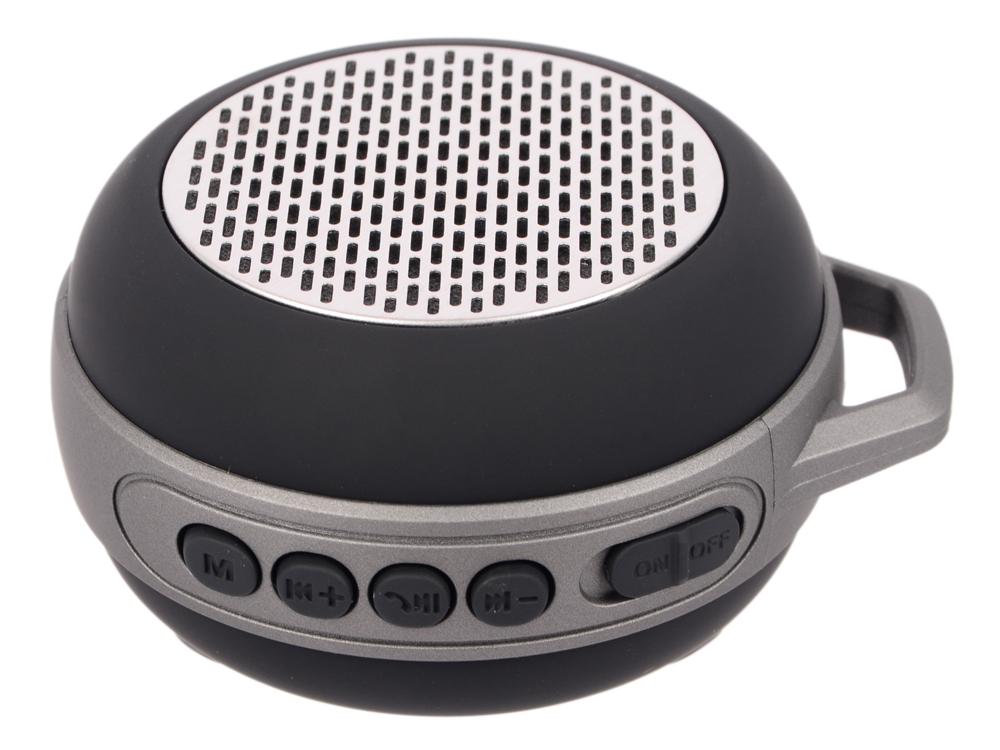 цена на Портативная колонка Sven PS-68 Black 5 Вт, 150 - 20 000 Гц, FM, Bluetooth, microUSB, AUX, АКБ