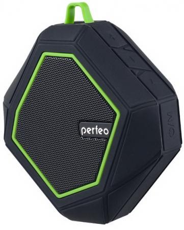 Портативная акустика Perfeo Tribute 5Вт Bluetooth черный PF_5208 цена и фото