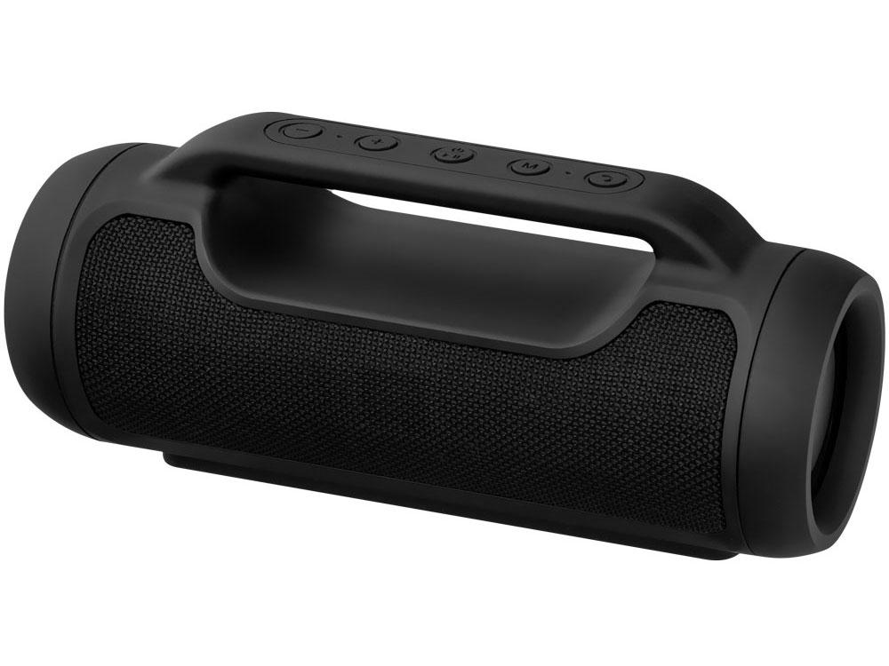 Портативная акустика Ginzzu GM-990B Black 2 х 5 Вт / 65 — 18 000 Гц / FM / BT 4.0 / USB, MicroUSB, AUX / АКБ цена и фото