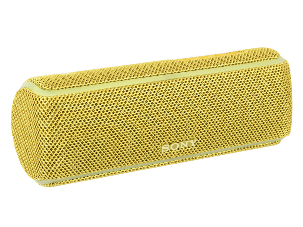 Портативная колонка Sony SRS-XB21 Yellow 14 Вт / 20 - 20000 Гц / Bluetooth 4.2 / NFC колонка sony srs xb21 white