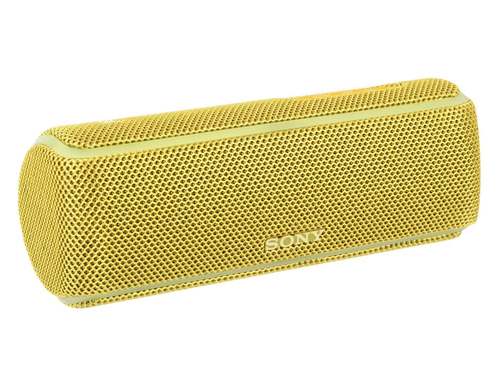 Портативная колонка Sony SRS-XB21 Yellow 14 Вт / 20 - 20000 Гц / Bluetooth 4.2 / NFC портативная bluetooth колонка dreamwave bubble pod yellow