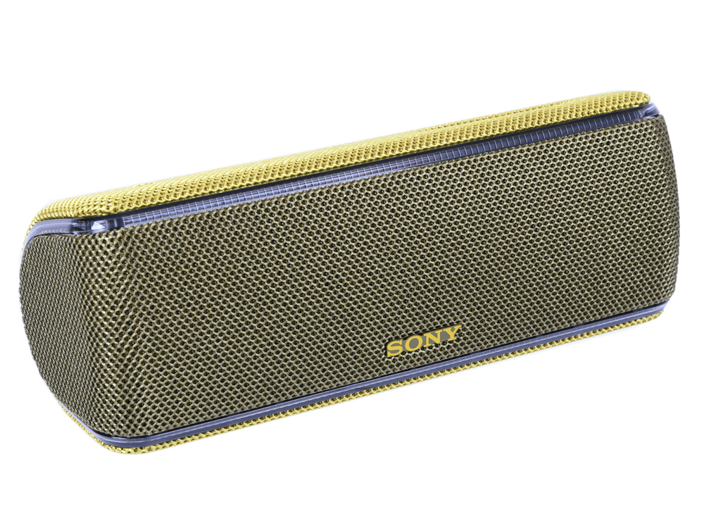 Портативная колонка Sony SRS-XB31 Yellow 20 Гц — 20кГц / BT 4.2 / micro USB / АКБ