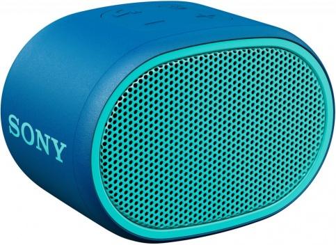 лучшая цена Портативная колонка Sony SRS-XB01 Blue