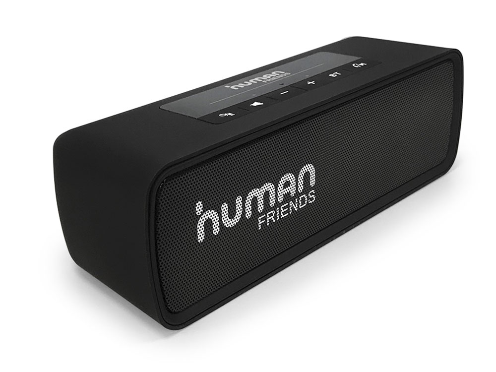 Портативная колонка CBR Human Friends Easytrack Black 130 — 20 000 Гц / FM / BT / AUX, microUSB / АКБ cbr human friends chess black