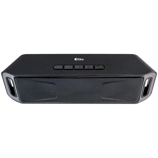 Портативная колонка Olike Wireless Speaker Black Беспроводная акустика / 2 x 3 Вт / Bluetooth / microSD / FM-радио