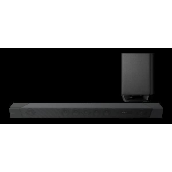 Саундбар Sony HT-ST5000 7.2 Bluetooth Wi-Fi Габариты (ВхШхГ) (мм) 1180 x 80 x 145, сабвуфер (Ш x В x Г): 248 ht 225b 100