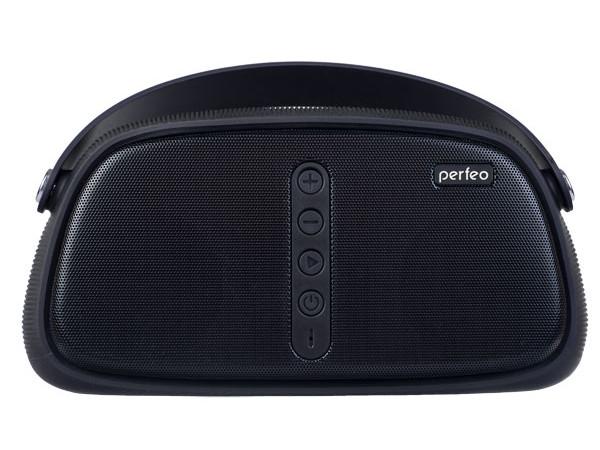 Perfeo Bluetooth-колонка OWL FM, MP3 microSD, USB, AUX, мощность 12Вт, 4000mAh, черная аудио колонка brand kerry kr 8800 bluetooth tf fm usb nfc 5c jambox kr 8800