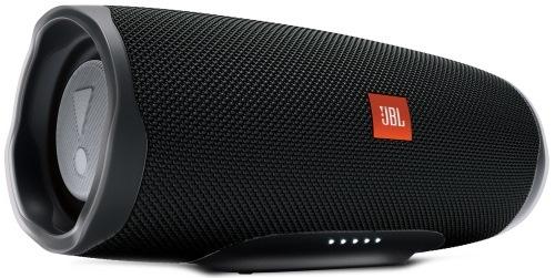 Колонки JBL Charge 4 черный 30W 1.0 BT/USB 7500mAh (JBLCHARGE4BLK) 30 Вт, 60-20000 Гц, Bluetooth, mini Jack, батарея, USB цена