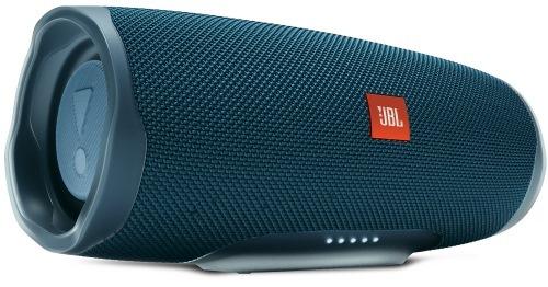 Колонки JBL Charge 4 синий 30W 1.0 BT/USB 7500mAh (JBLCHARGE4BLU) 30 Вт, 60-20000 Гц, Bluetooth, mini Jack, батарея, USB цена