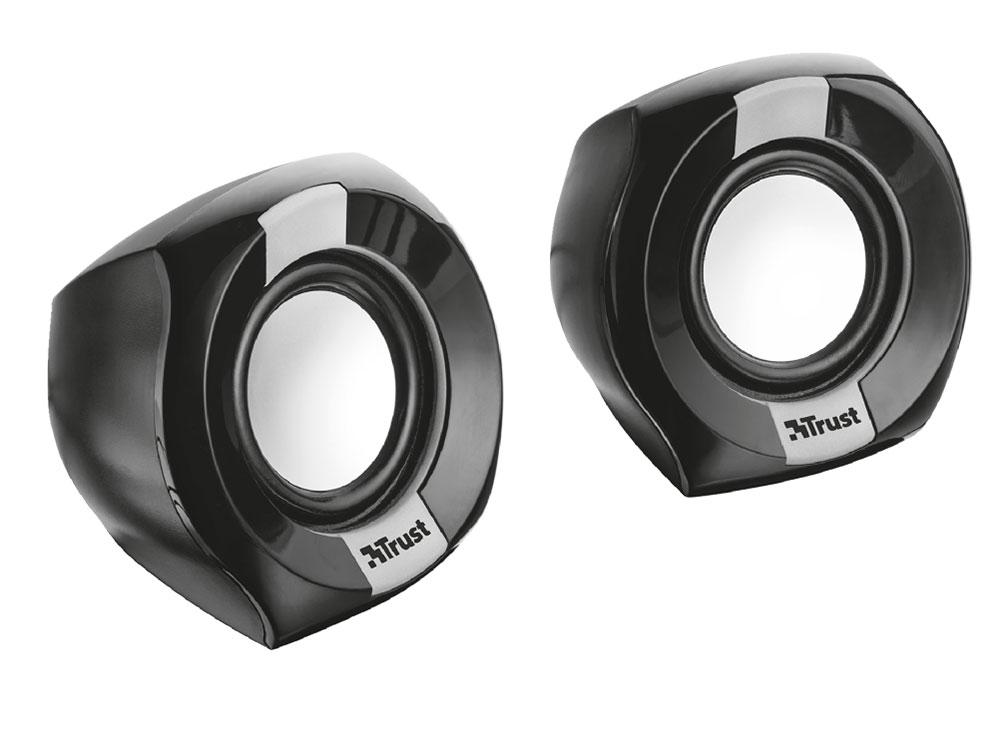Колонки Trust Polo Compact 2.0 Black 2 х 4 Вт / 150 - 20000 Гц / 3.5 мм / USB цена