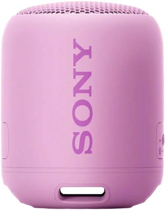 Портативная колонка Sony SRS-XB12 Pink 10 Вт, 20 - 20000 Гц, Bluetooth, microUSB, AUX, 1400mAh