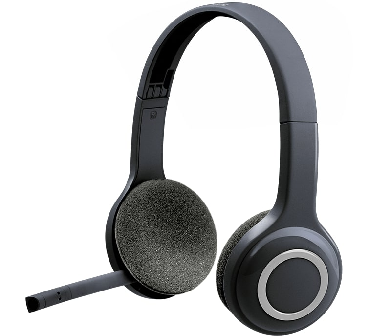 (981-000342) Гарнитура Беспроводная Logitech Wireless Headset H600 гарнитура logitech wireless headset h760 981 000266