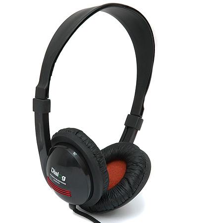 цена на Наушники Dialog M-561HV Black Проводные / Накладные / Черный / 20 Гц - 20 кГц / 102 дБ / Одностороннее / Mini-jack / 3.5 мм