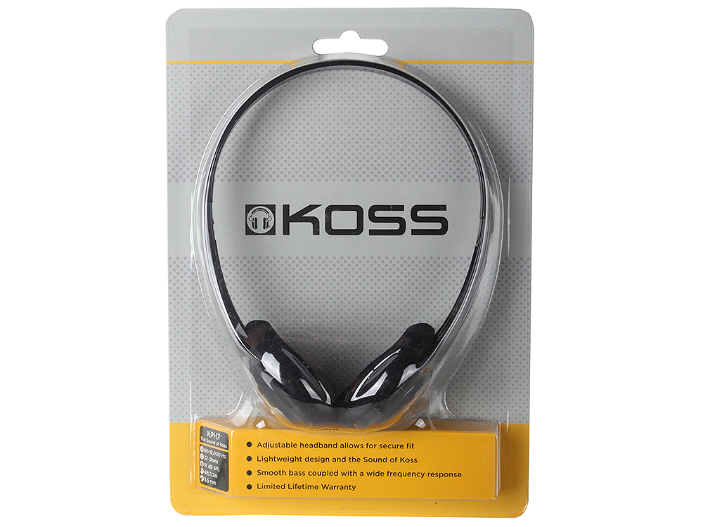 KPH7 Black koss kph7