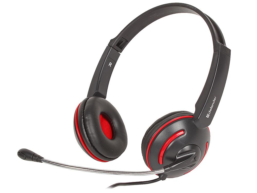 Гарнитура Defender Aura-115 черный, кабель 2 м 63115