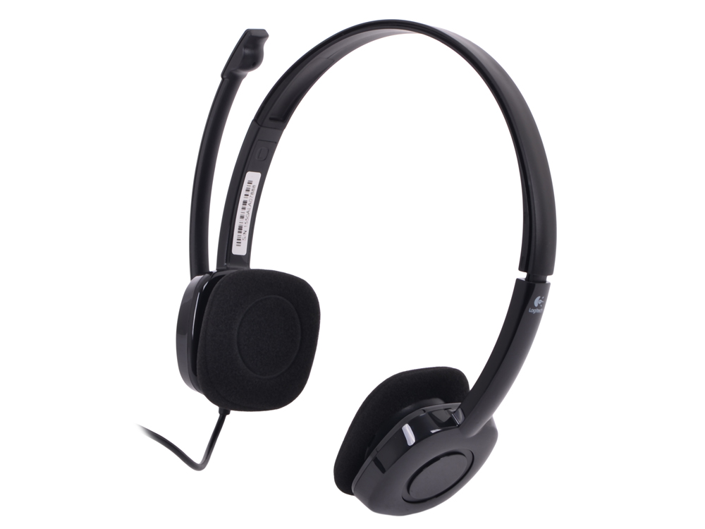 (981-000589) Гарнитура Logitech Stereo Headset H151 гарнитура logitech wireless headset h760 981 000266