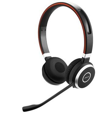 Наушники (гарнитура) JABRA EVOLVE 65 MS Stereo Black Беспроводные/проводные / Накладные с микрофоном / BlueTooth / до 10 ч / miniJack 3.5 мм гарнитура jbl jble35wht накладные белый проводные