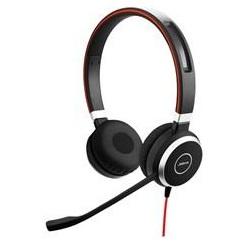 Наушники (гарнитура) JABRA EVOLVE 40 MS Stereo Black Проводные / Накладные с микрофоном / Одностороннее / USB / miniJack 3.5 мм гарнитура