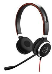 Наушники (гарнитура) JABRA EVOLVE 40 UC Stereo Black Проводные / Накладные с микрофоном / USB гарнитура jbl jble35wht накладные белый проводные