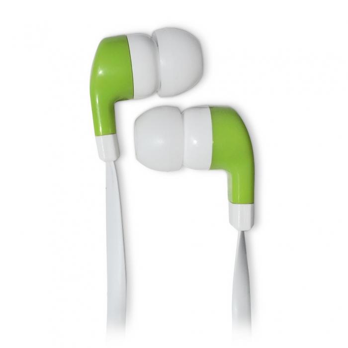 цена на Наушники CBR Human Friends Rumba White Green Проводные / Внутриканальные / Белый Зеленый / 20 Гц - 20 кГц / 95 дБ / Двухстороннее / Mini-jack / 3.5 мм