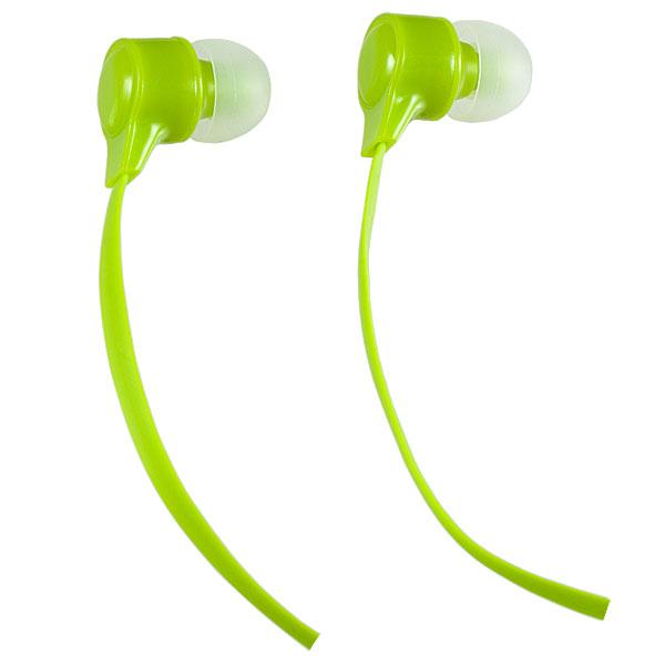 Наушники Perfeo BASE желто-зеленый PF-BAS-LME Проводные / Внутриканальные / Зеленый / 20 Гц - 20 кГц / 100 дБ / Двухстороннее / Mini-jack / 3.5 мм