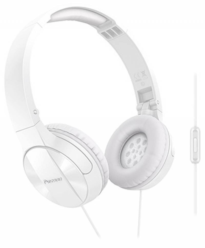 Наушники Pioneer SE-MJ503T-W белый цена