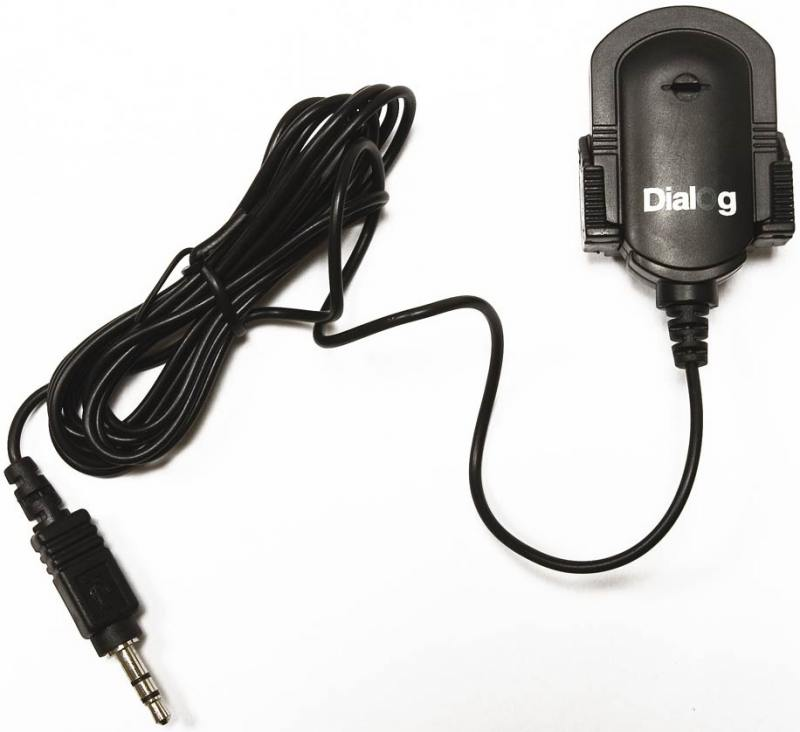 Микрофон Dialog M-100B конденсаторный черный