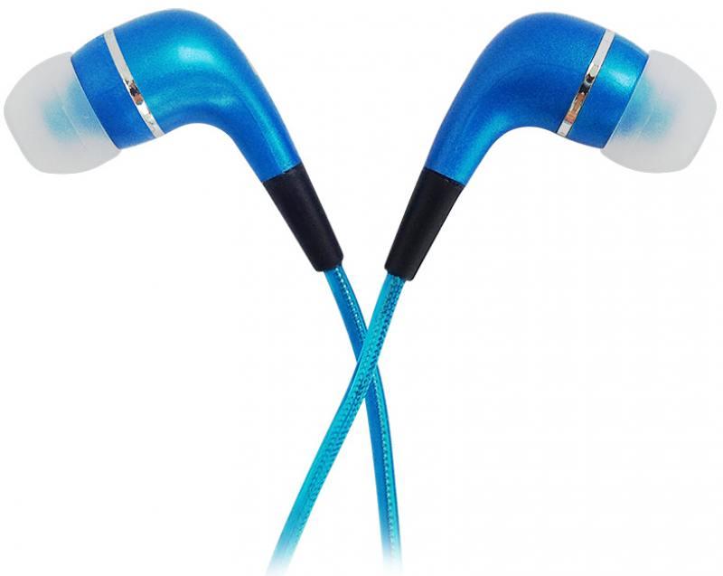 Наушники CBR Human Friends Spark Проводные / Внутриканальные с микрофоном / Голубой / 20 Гц - 20 кГц / 95 дБ / Двухстороннее / Mini-jack / 3.5 мм цена