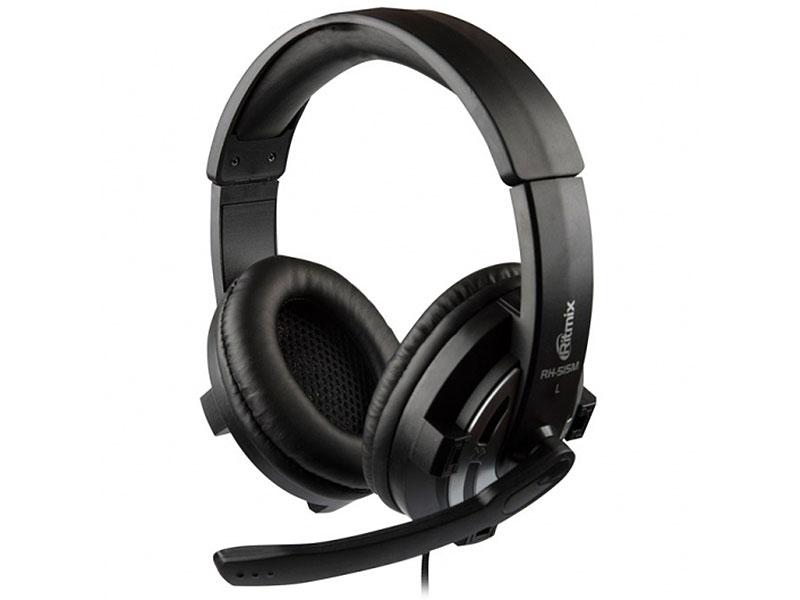 Гарнитура Ritmix RH-515M черный цены