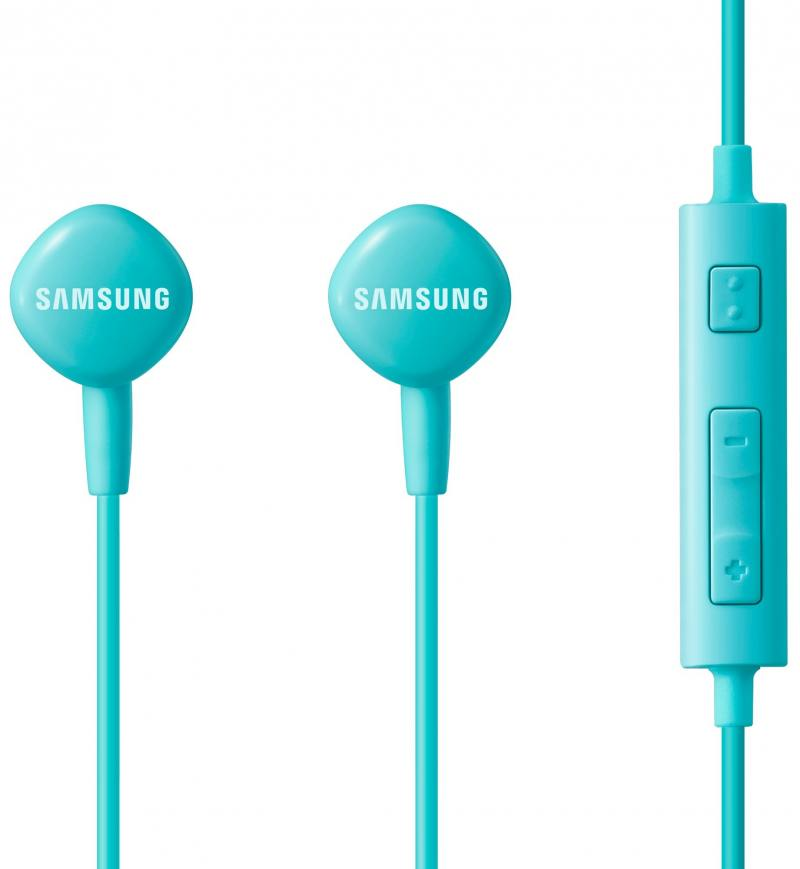Гарнитура проводная Samsung EO-HS1303LEGRU 3.5мм голубой