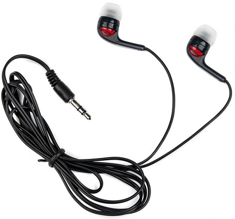 Наушники Dialog EP-20 Black Проводные / Внутриканальные / Черный / 20 Гц - 20 кГц / Двухстороннее / Mini-jack / 3.5 мм