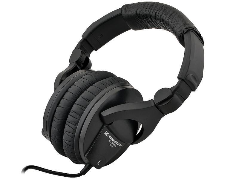 Наушники Sennheiser HD 280 Pro Black Проводные / Полноразмерные без микрофона / 8 – 25000 Гц / 113 дБ / Одностороннее / miniJack 3.5 мм