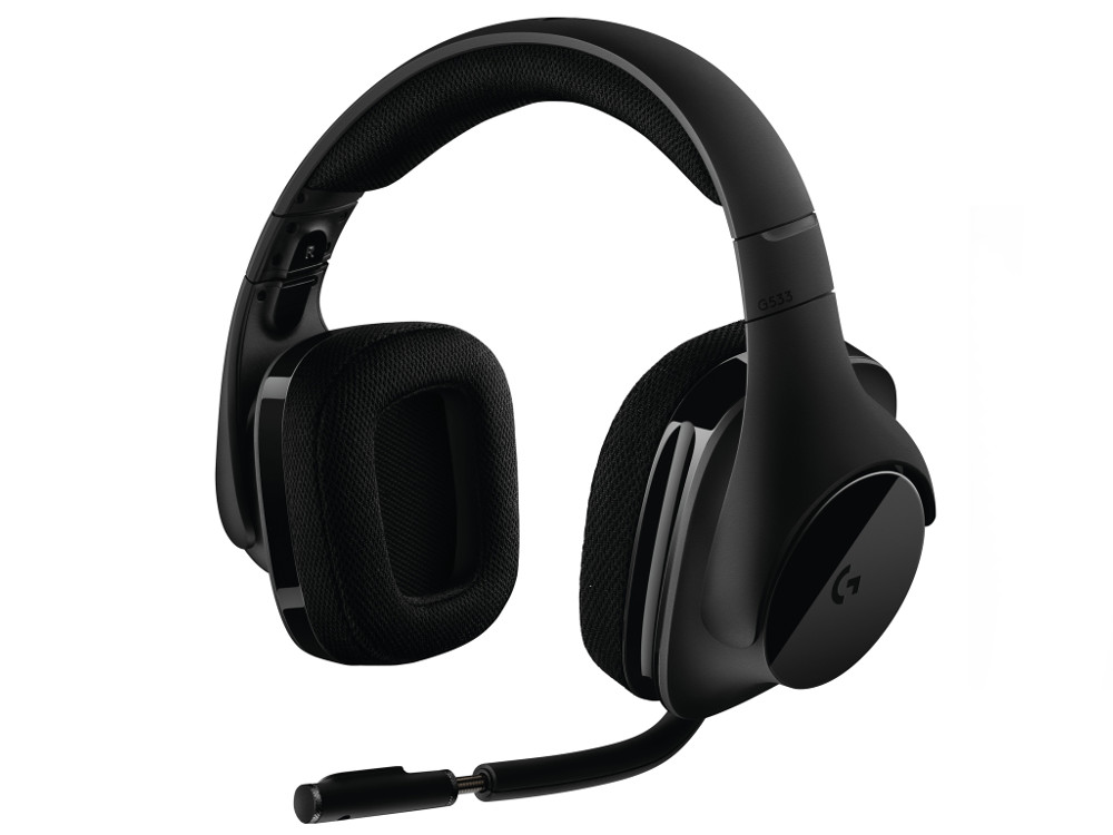 (981-000634) Гарнитура Logitech Gaming Headset G533 гарнитура logitech wireless headset h760 981 000266