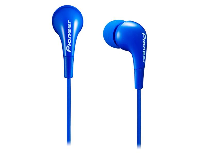 цена Наушники Pioneer SE-CL502-L синий онлайн в 2017 году