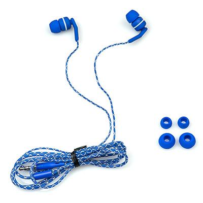 лучшая цена Наушники Dialog EP-F15 Blue Проводные / Внутриканальные / Синий / 20 Гц - 20 кГц / Двухстороннее / Mini-jack / 3.5 мм
