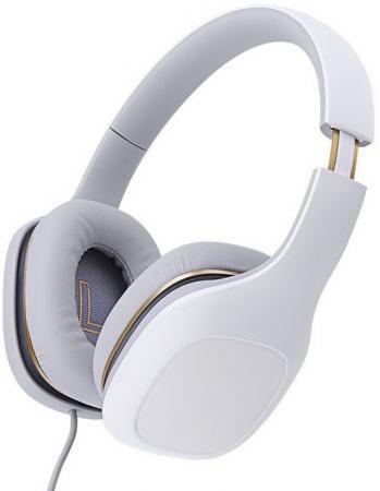 Наушники Xiaomi Mi Headphone Comfort White Проводные / Накладные с микрофоном / Белый / 20 Гц - 40 кГц / 107 дБ / Двухстороннее / Mini-jack / 3.5 мм jvc ha enr15 w white наушники