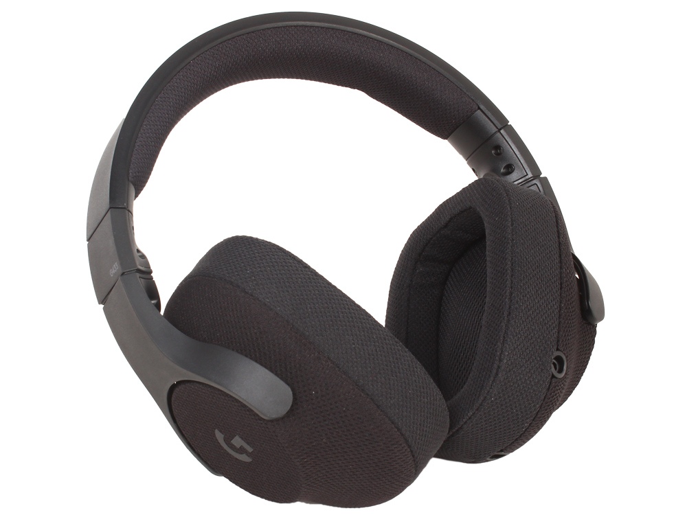лучшая цена (981-000668) Гарнитура Logitech 7.1 Surround Gaming Headset G433 TRIPLE BLACK