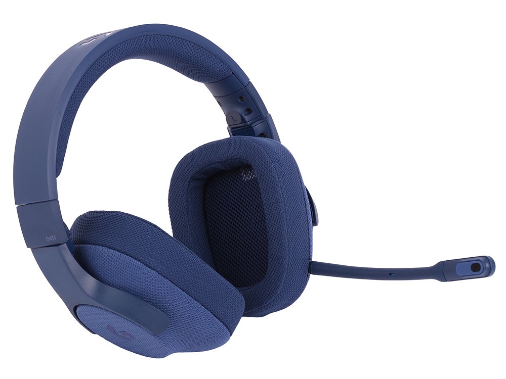 лучшая цена (981-000687) Гарнитура Logitech 7.1 Surround Gaming Headset G433 ROYAL BLUE