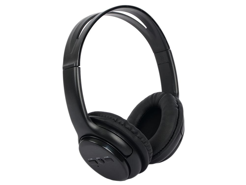Наушники HARPER HB-201 / Беспроводные, проводные / Полноразмерные с микрофоном / Черный / 20 Гц - 20 кГц / 114 дБ / Одностороннее / до 5 ч / Bluetooth цена и фото