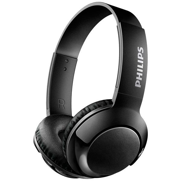Наушники Philips SHB3075BK/00 черный Беспроводные / Полноразмерные с микрофоном / Черный / 9 Гц - 21 кГц / 103 дБ / до 12ч / Bluetooth, Micro-USB стоимость