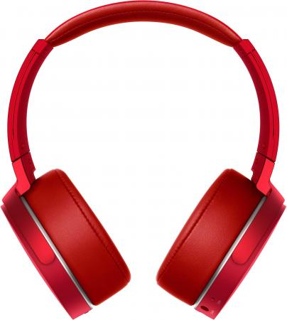 цена Наушники Sony MDR-XB950B1 Red Беспроводные / Полноразмерные без микрофона / 102 дБ / BlueTooth онлайн в 2017 году