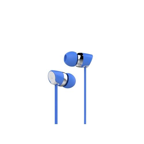 Гарнитура HARPER KIDS HV-104 Blue Проводные / Внутриканальные с микрофоном / 20 - 20000 Гц / 100 дБ / Двустороннее / miniJack 3.5 мм