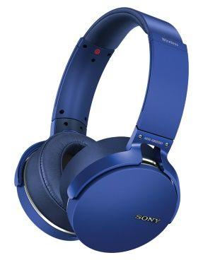 цена на Наушники SONY MDR-XB950B1 Беспроводные / Синий / до 18 ч / Bluetooth